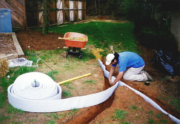Pre Fabricated French Drain System